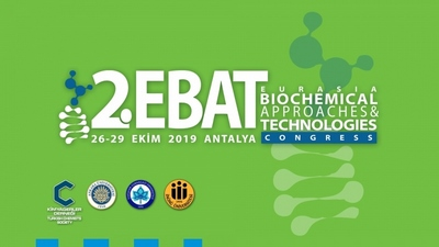 2.EBAT (EURASIA BIOCHEMICAL APPROACHES & TECHNOLOGIES) KONGRESİ