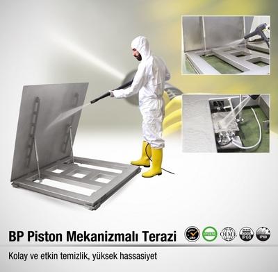 BAYKON BP PİSTON MEKANİZMALI TERAZİ!