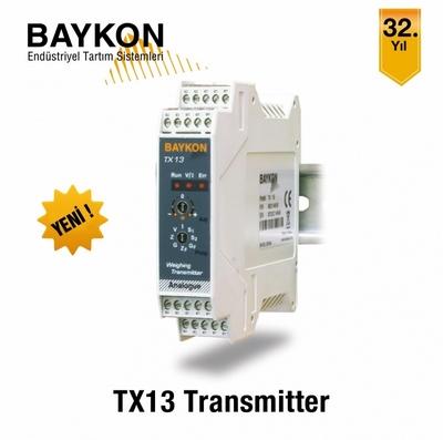BAYKON TX13 Transmitter ile Yüksek Hassasiyetli Tartı Bilgisi !