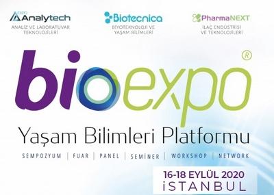 4. BIOEXPO 2020 YAŞAM BİLİMLERİ PLATFORMU, 16-18 EYLÜL'DE SEKTÖRLERİ BULUŞTURACAK