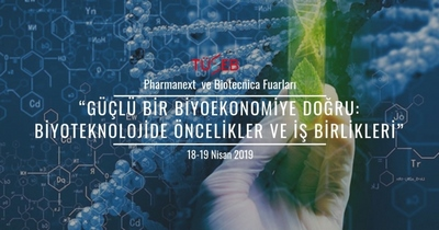 Pharmanext ve Biotecnica Fuarları 17-19 Nisan 2019'da gerçekleşecek!