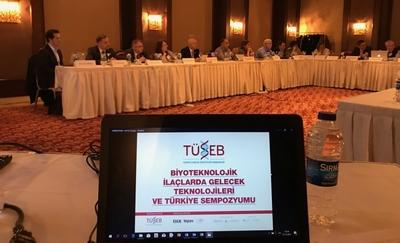 """""""Biyoteknolojik İlaçlarda Gelecek ve Türkiye"""" Sempozyumu Bilim Kurulu Toplantısı Yapıldı"""