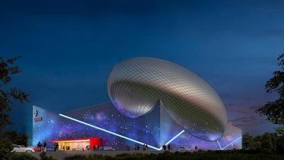 Gökmen Uzay Havacılık ve Eğitim Merkezinin inşaatının yüzde 50'si tamamlandı.